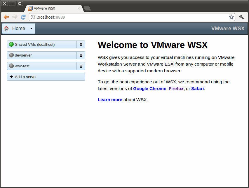 VMware WSX July Tech Preview Release | ChipLog